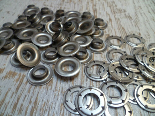 50 Pack 316 Stainless Steel Marine Boat /& Tarp Covers SP4 Eyelets Tent