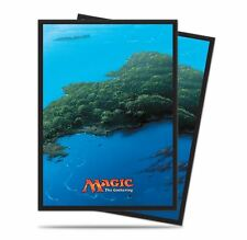 160 ULTRA PRO ISLAND DECK PROTECTORS SLEEVES MTG 2 Packs of 80 Unhinged Blue
