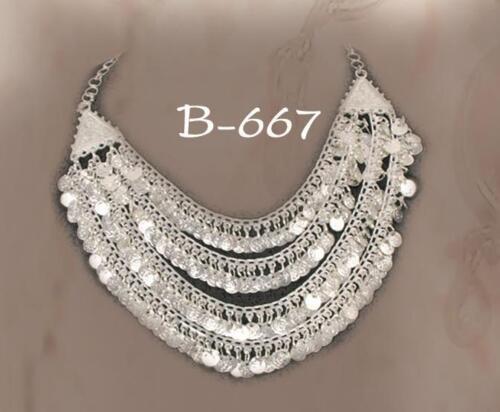 B-667 Orientalischer-Schmuck Halskette indischer Stil Bollywood-Accessoire