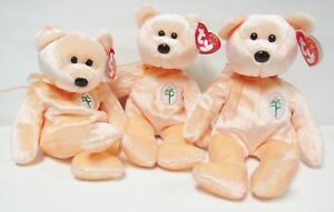 7f16aa6afb9 Image is loading Ty-Beanie-Baby-Dearest-Peach-tone-Mother-039-