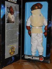 """Kenner  STAR  WARS  12"""" ADMIRAL  ACKBAR    yr.1997  Action  Figure"""
