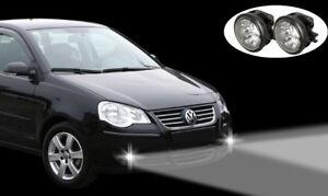 LED-Tagfahrlicht-LED-Nebelscheinwerfer-VW-Polo-9N3-2005-2009-Scheinwerfer