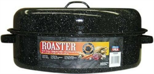 """Columbian Home Products 18/"""" Black Oval Roaster Sealed"""