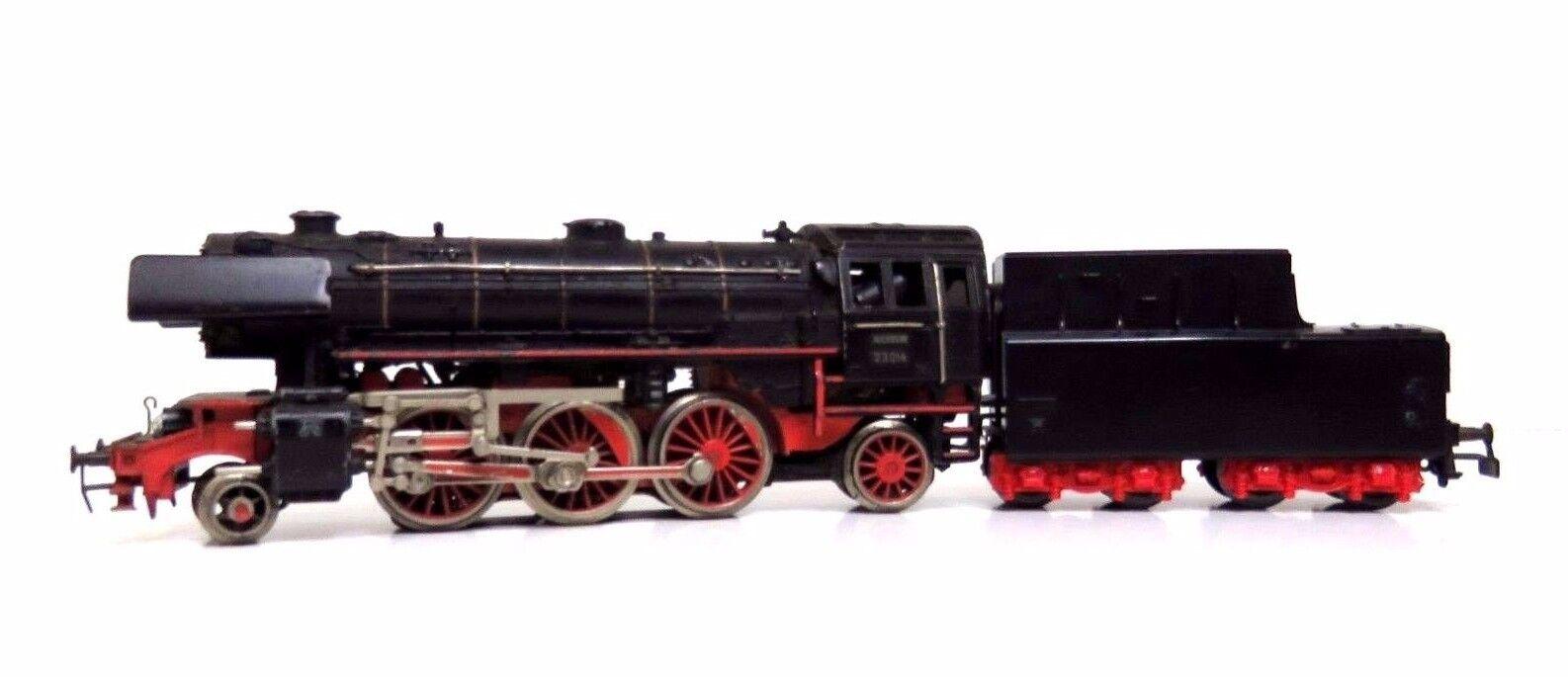 Treno LOCOMOTIVA BR 23 delle DB   3005 h0 senza imballaggio originale