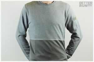 Lyle & Scott - Fabric Mix Sweatshirt - Mid Grey Marl