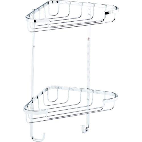 Croydex-Rust-Free-Small-Two-Tier-Corner-Basket