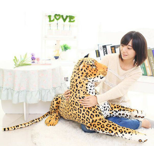 50cm Leopard Plush Soft Toys doll Stuffed Animal Baby kids Birthday Gift home US