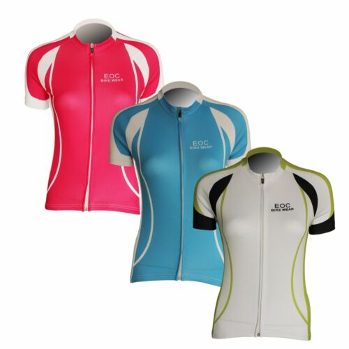 Women/'s Short Sleeve Cycling Jersey Bicycle Bike Comfortable Shirts 3 Color J001