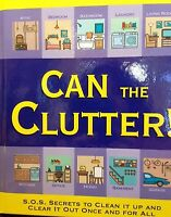 Jerry Baker's Can The Clutter By Jerry Baker Hardcover Book
