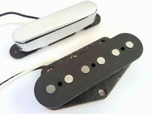 True-Custom-Shop-Vintage-Sound-Chrome-039-52-Tele-Pickup-Set-for-Fender-Telecaster