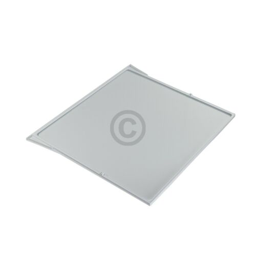 Glasplatte BOSCH 00704421 500//455x430mm mit Rahmen für Gemüsefach Kühlschrank