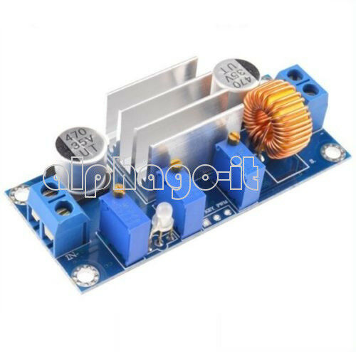 Lithium Charger Step-Down Module Xl4005 Power Supply 5A Cc Cv Ic Develope