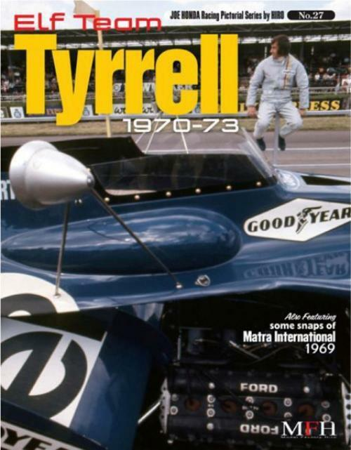 punto de venta Mfh Mfh Mfh Book No27. Elfo Equipo Tyrrell 1970-73 Honda Racing Pictórica Serie By Hiro  Hay más marcas de productos de alta calidad.