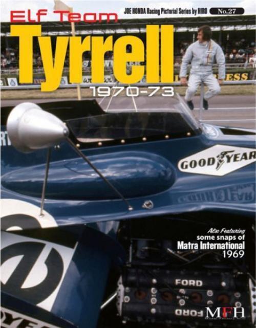 Mfh Book No27. Elfo Equipo Tyrrell 1970-73 Honda Racing Pictórica Serie By Hiro
