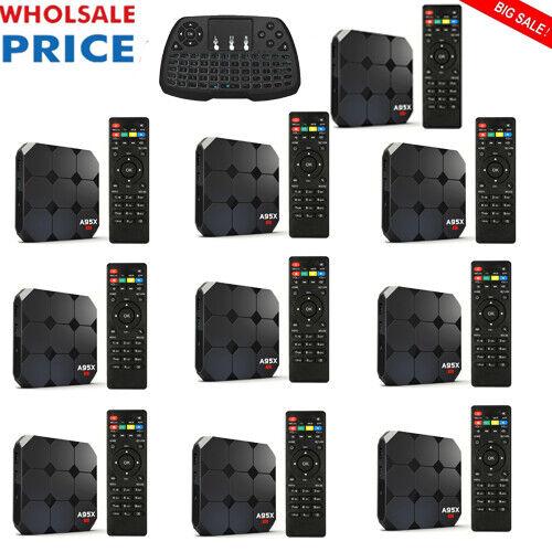 LOT A95X R.2 Android7.1 TV Box S905W 4-Core H.265 16G WiFi HD Media Player Z6X1 16g a95x box lot media player s905w wifi z6x1