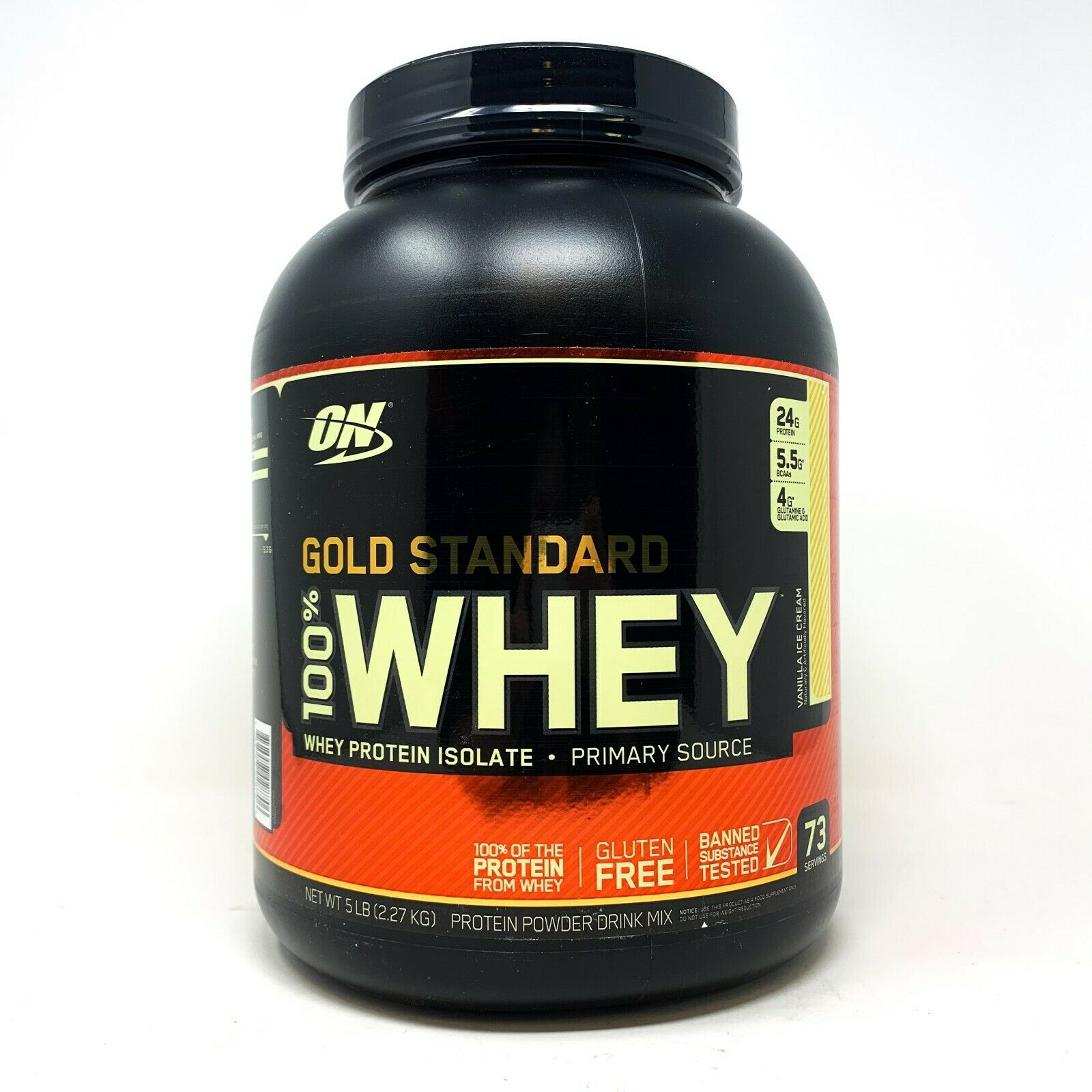Optimum Nutrition Gold Standard Whey Protein Powder Muscle Building Supplements For Sale Online Ebay