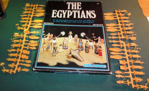 RARE Atlantic- Story Book The Egyptians The Pharoah's Court MIB  1/72