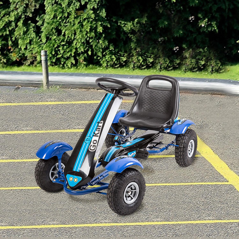 Adjustable Seat Go Kart Pedal  Car Ride On Toys for Boys & Girls Safe 4 Wheels  general high quality