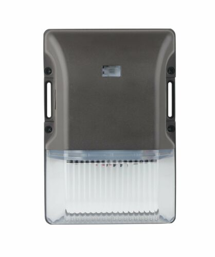 Only 20 Watts 2,400 Lumen LED Wall Light with Dusk to Dawn Photocell 5000K
