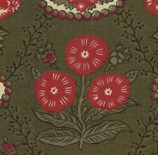 Red Green /& Tan Quilting By 1//2 Yd B408 Moda//French General//Fa-La-La//13581 12