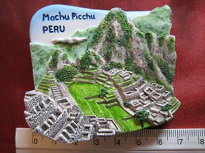 2019 Neuestes Design Machu Picchu Inkas Inka Peru Südamerika 3d Kühlschrank-magnet Urlaub Kühlschrank Gesundheit Effektiv StäRken