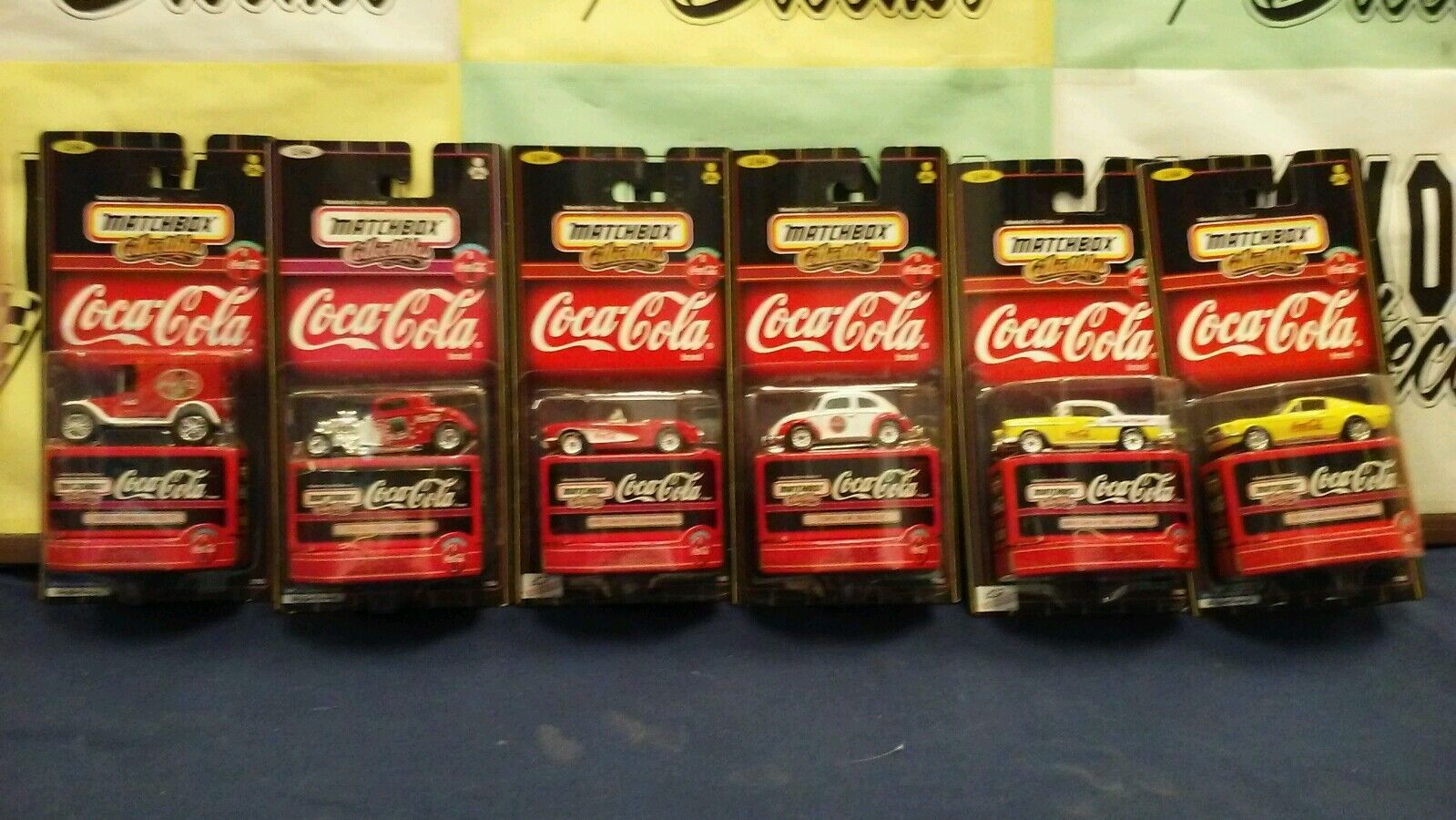 COCA-COLA MATCHBOX Premiere Collector 6 Club véhicules ensemble complet échelle  1 64  prix bas tous les jours