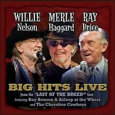 "Willie Merlie & Ray: Big Hits Live From the ""Last of the Breed"" Tour by Merle Haggard/Ray Price/Willie Nelson (CD, Dec-2015, Tophat)"