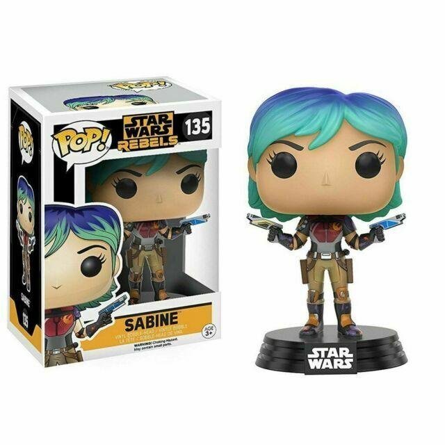 FunKo Free Shipping! Vinyl Figure Star Wars: Rebels Sabine Pop