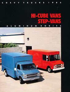 1985 chevy van value