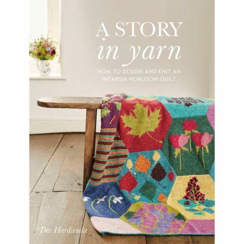 A Story in Yarn Dee Hardwicke Knitting Pattern Book Intarsia Heirloom Blanket