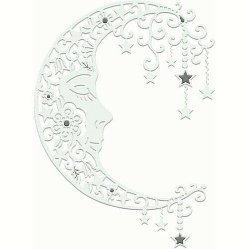 Moon Face Stars Magical Moon Die Sweet Dixie SDD489