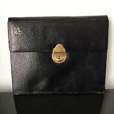 Porte Document Feroux Palais Royal NAPOLEON III XIXè 19C VICTORIAN Leather Case