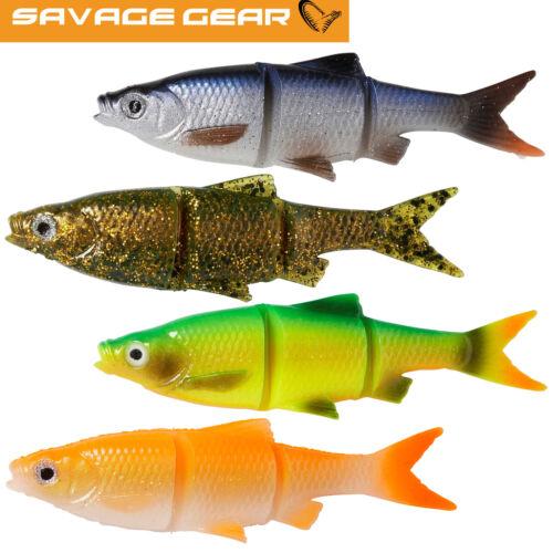 Hechtköder Gummifisch zum Jerkbaitangeln Savage Gear LB Roach Swim /& Jerk