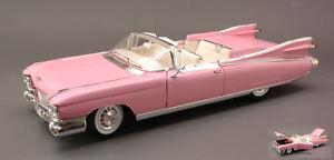 Cadillac-Eldorado-Biarritz-1959-Pink-1-18-Model-MAISTO