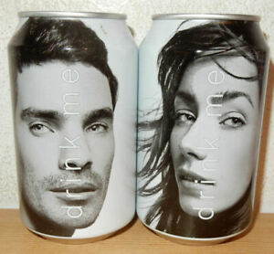 2 DRINK ME Soda cans from NETHERLANDS (33cl)