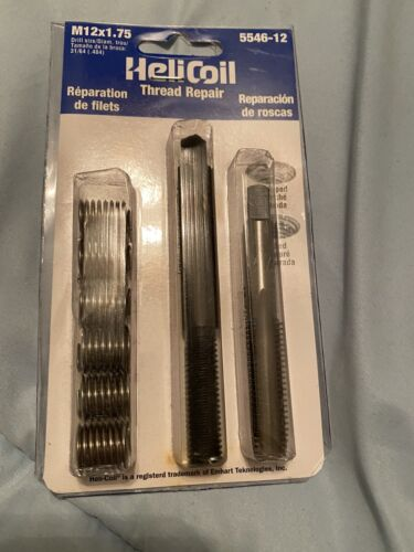 Helicoil M12x1.75 Complete Thread Repir Kit NEW