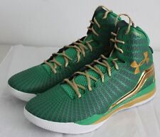 green and gold under armour shoes