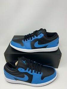 Details about Nike Air Jordan 1 Low Reverse Laser Blue 553558-410 Brand New  Men's Size 9