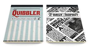 Harry Potter Hogwarts Klitterer Daily Prophet Jotter Set Notizbuch Geschenk