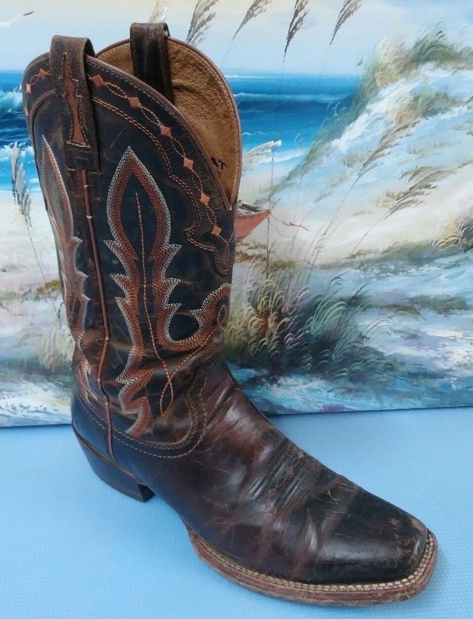 Ariat Estilo Occidental botas Negras 10008812 tamaño 9.5D