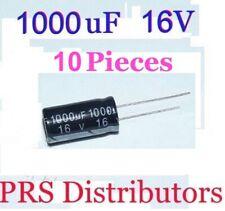 2PCS 16V 10000uF 16Volt 10000MFD Electrolytic Capacitor 16×30