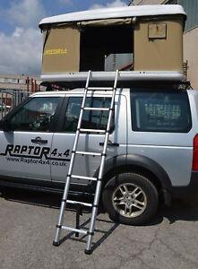 Image is loading Raptor-4x4-Premium-Hard-Shell-XL-Roof-Tent- & Raptor 4x4 Premium Hard Shell XL Roof Tent Land Rover Defender ...