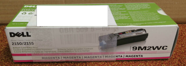 Genuine Dell 9M2WC Magenta Toner Cartridge For Series 2150/2155 - NEW SEALED