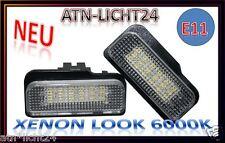 LED CAN-Bus Nummernschildbeleuchtung Mercedes W211 W203 Kombi Wagon W219 R171