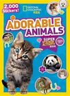 National Geographic Kids Adorable Animals Super Sticker Activity Book: 2,000 Stickers! by National Geographic Kids (Paperback / softback, 2015)