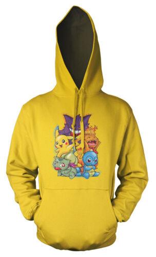 Pokey Characters Japanese Gaming Kids Hoodie
