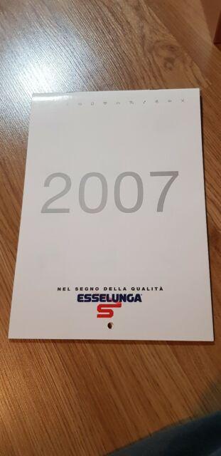 Esselunga Calendario 2007 Segni Zodiacali Grafica Vintage   eBay