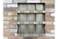Industrial-Pigeon-Hole-Wall-Unit-Metal-Storage-Shelf-9-Cubicles-Rustic-Cabinet thumbnail 2