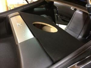 Custom-Sub-Enclosure-Subwoofer-Speaker-Box-for-a-Nissan-350Z-Single-Sub