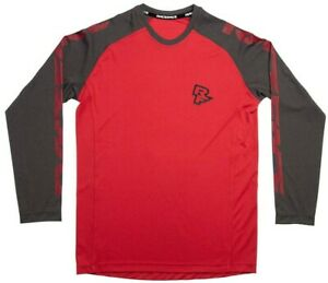 Race-Face-Sendy-Kid-039-s-Long-Sleeve-Jersey-Large-Red